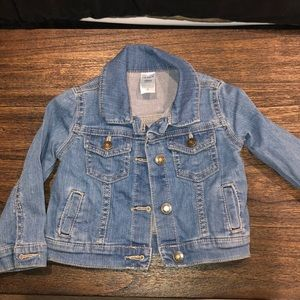 Carters Girls Faded Wash Jean Jacket